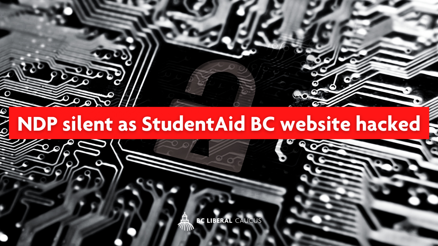 NDP silent as StudentAid BC website hacked