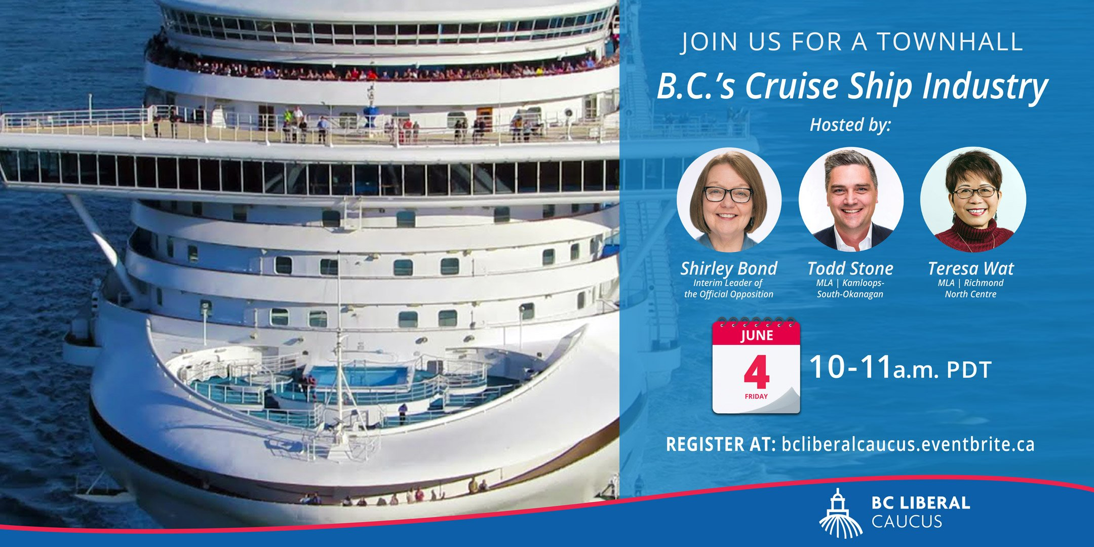 Townhall on B.C. cruise ship industry