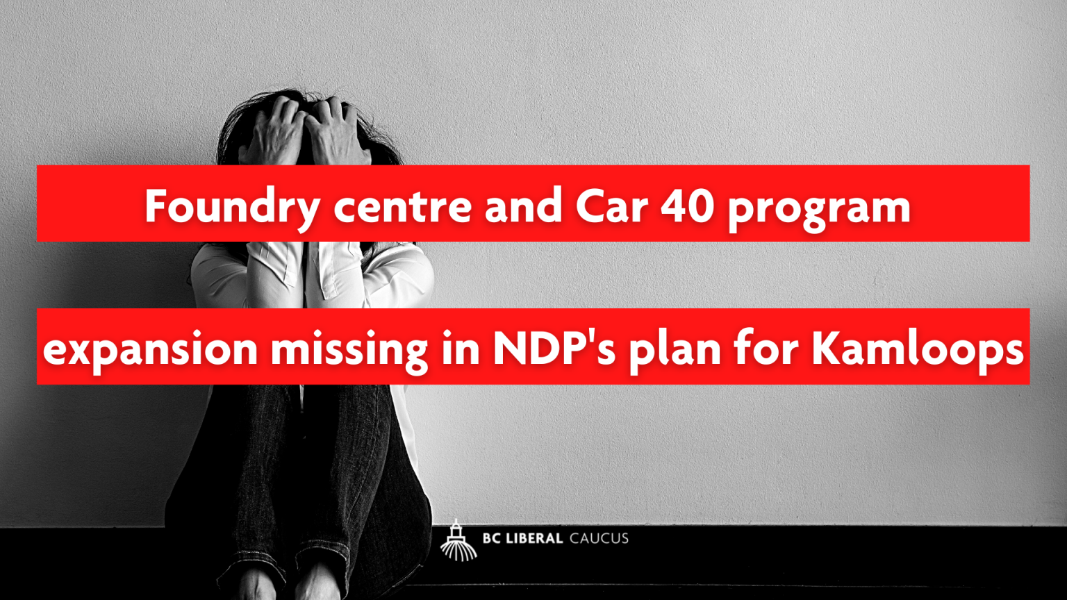 Foundry centre and Car 40 program expansion missing in NDP's plan for Kamloops