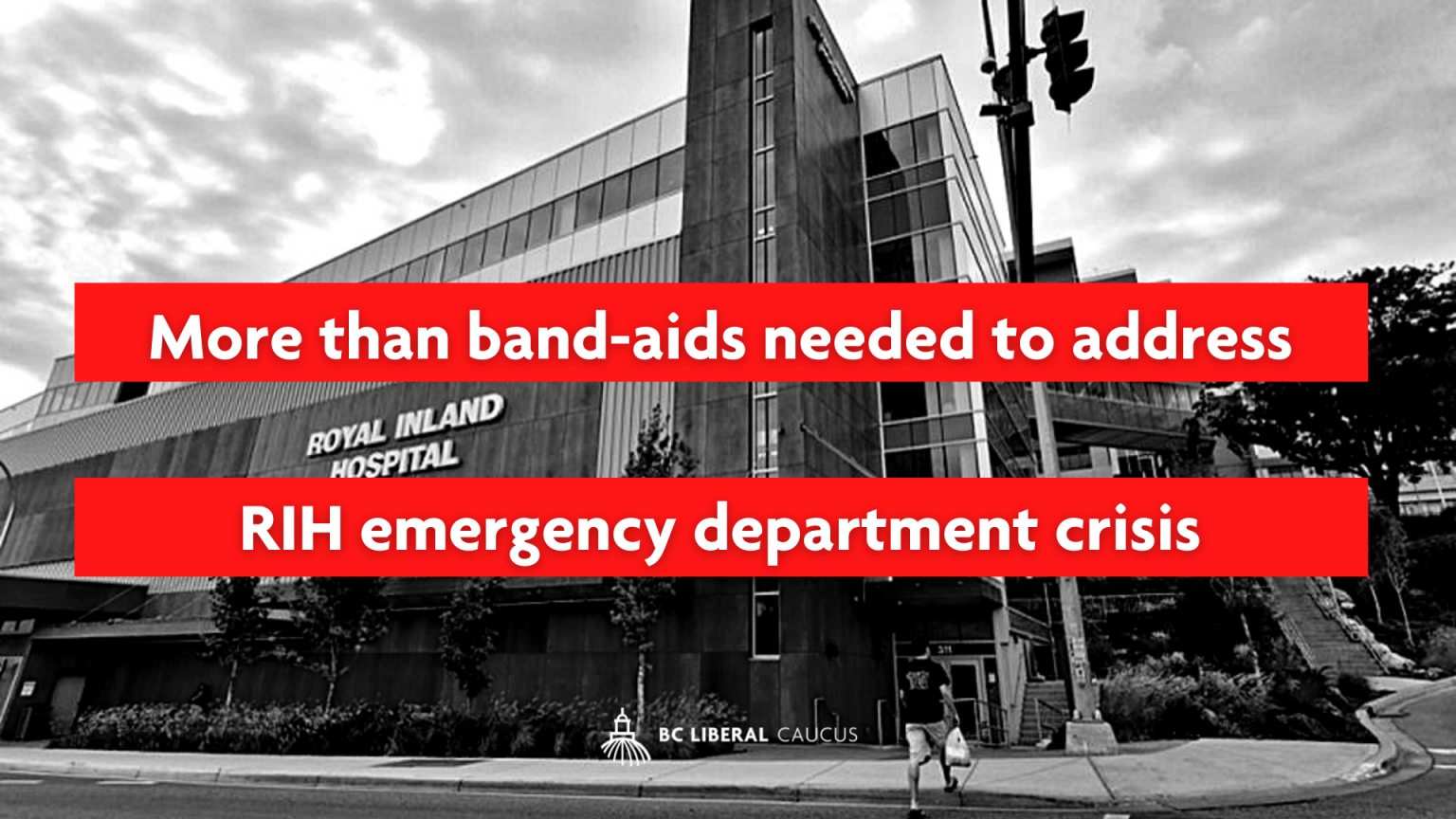 More than band-aids needed to address RIH emergency department crisis